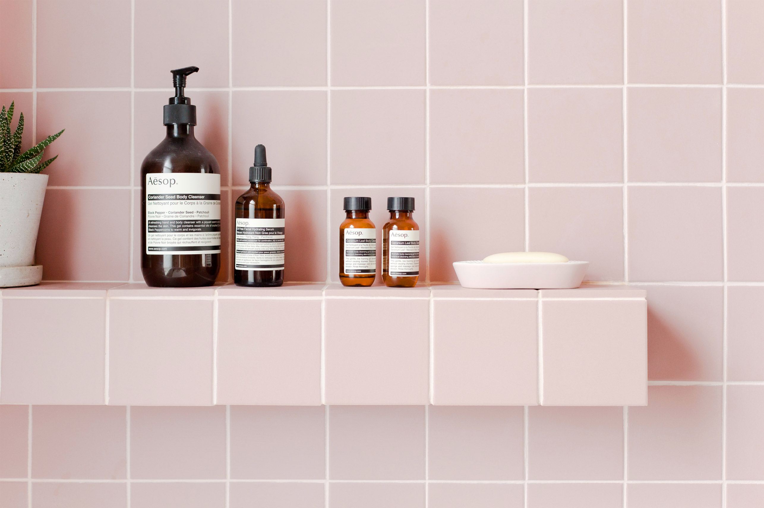 victorian pink quarry tiles by Tile Giant